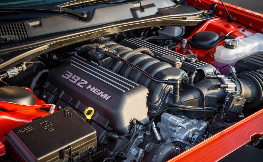 2021 Dodge Challenger Engine