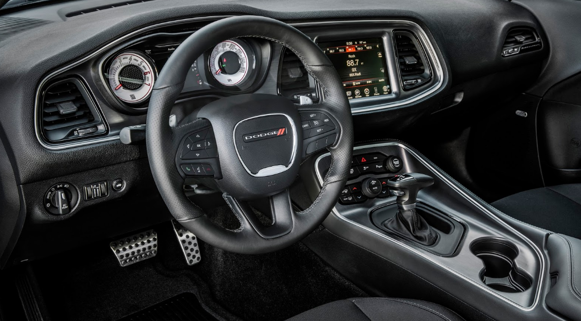 2021 Dodge Challenger Widebody Interior