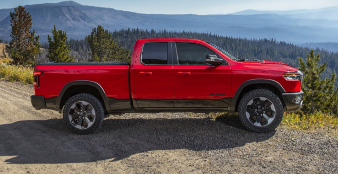 2021 Dodge Dakota Pickup Engine