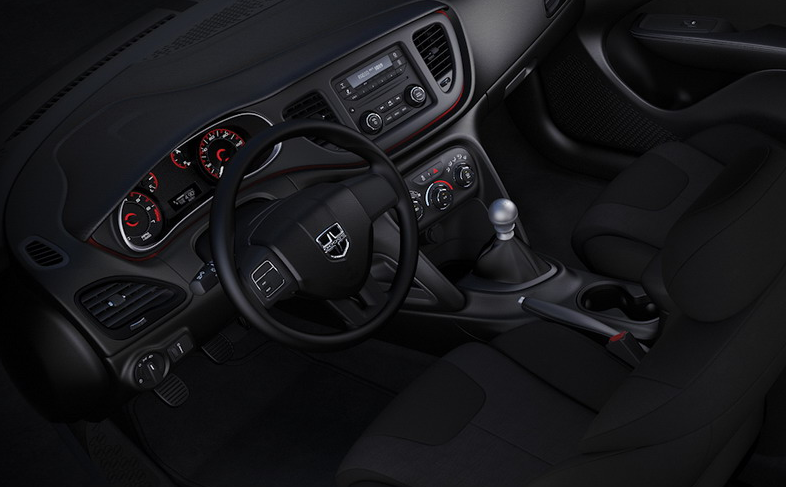 2021 Dodge Dart Aero Interior