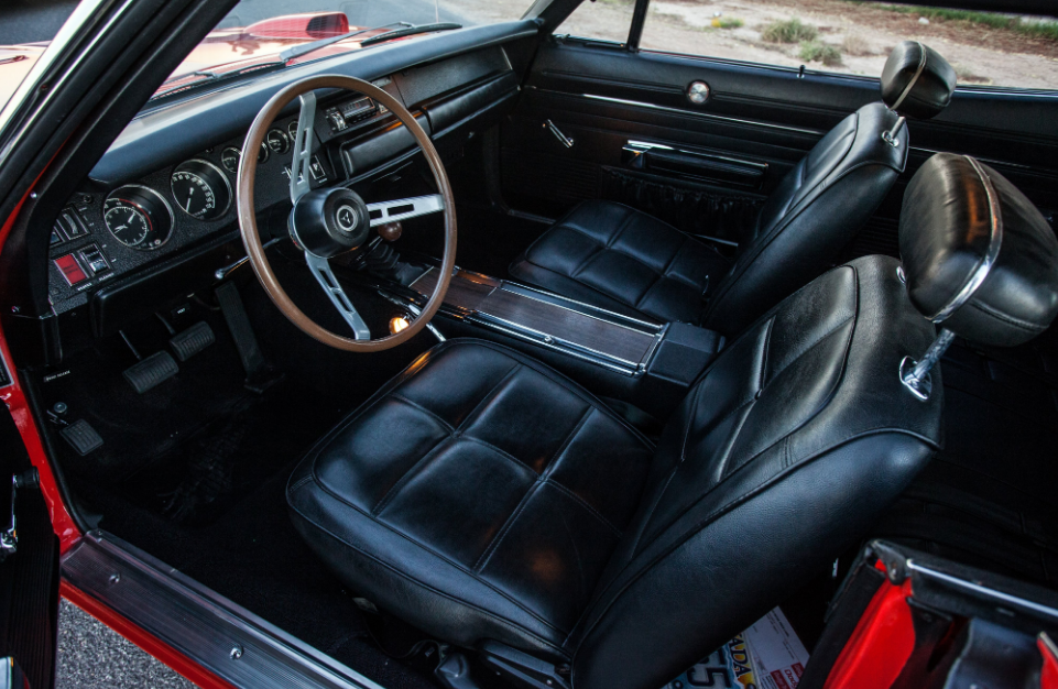2021 Dodge Daytona Interior