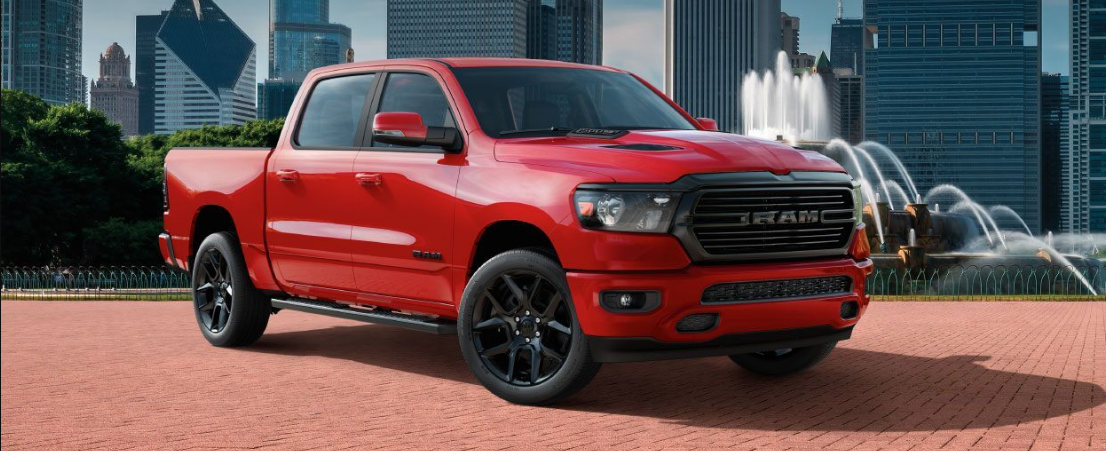 2021 Dodge Ram 1500 Engine