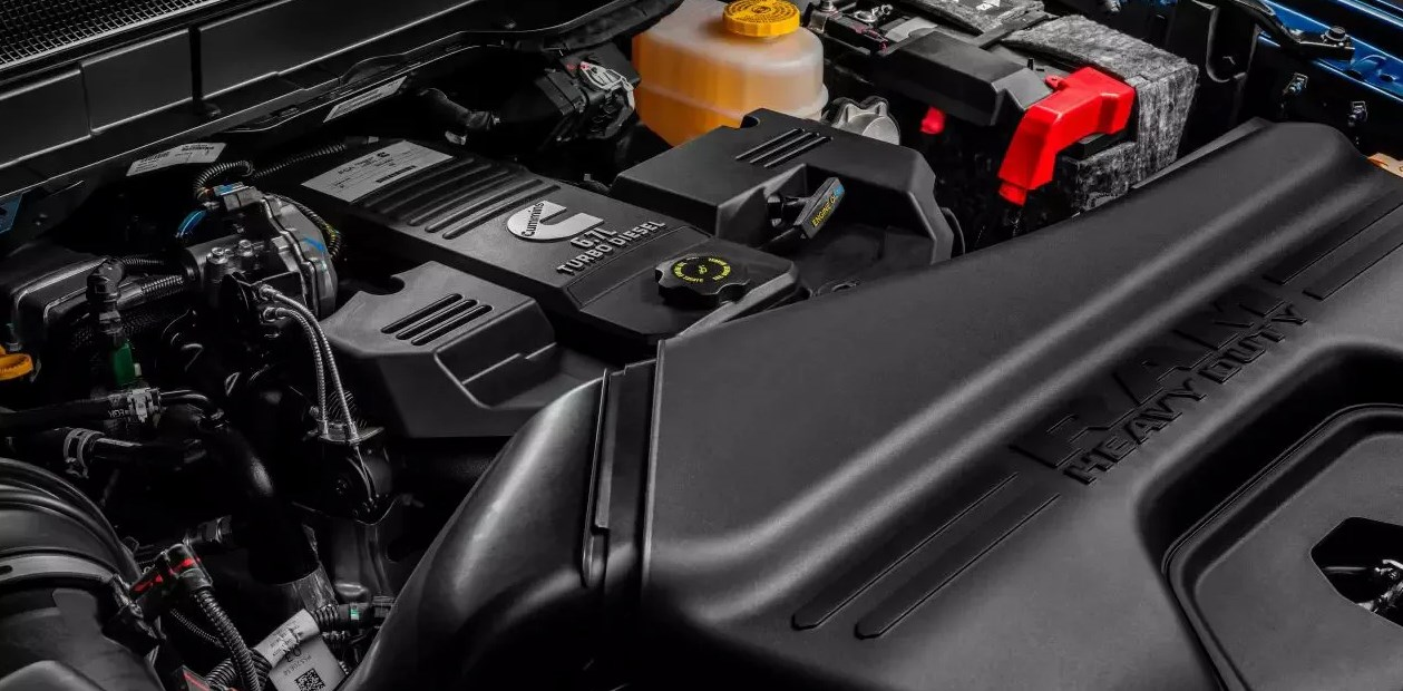 2021 Dodge Ram Laramie Engine