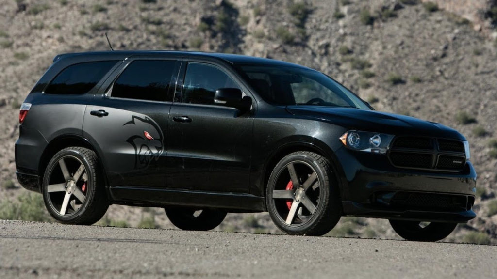 700 HP Hellcat Powered Dodge Durango Is Real And It s
