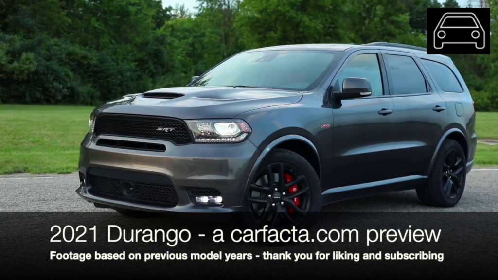 New 2021 Dodge Durango Limited Lineup Mpg Dodge Specs News