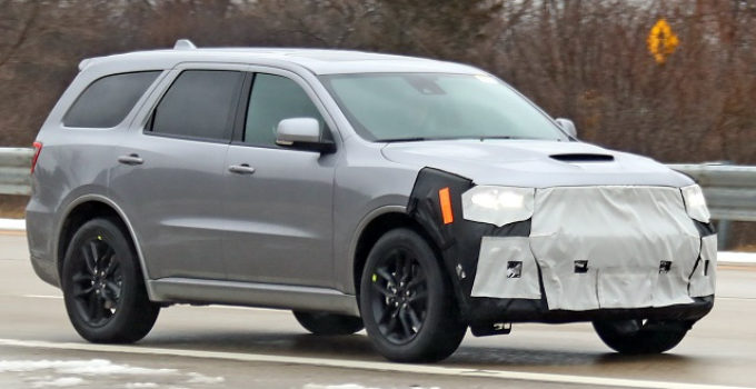 2021 Dodge Durango Facelift Is Here Redesign Is Years