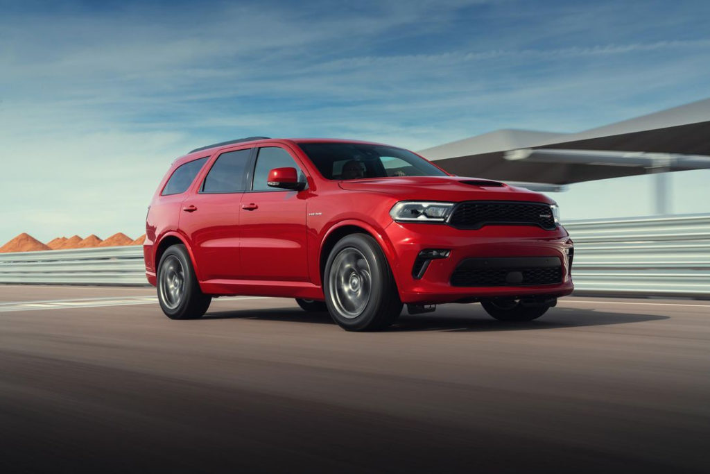 2021 Dodge Durango Is A Mean faced Muscle SUV Even
