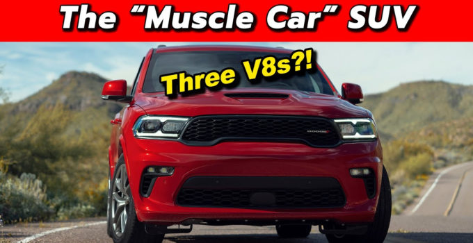 Towing Champ Now With Extra Crazy 2021 Dodge Durango