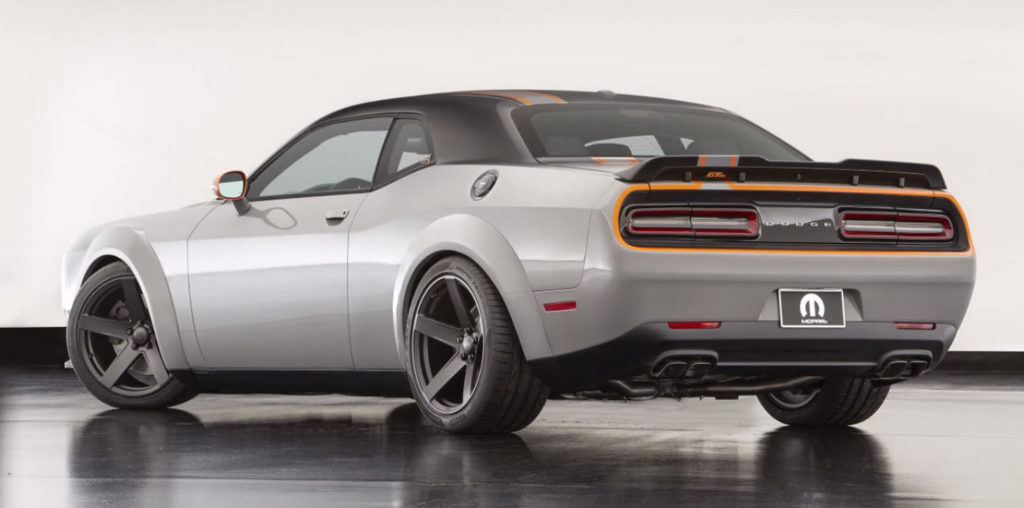 Dodge Challenger GT AWD Concept Revealed At SEMA Photos