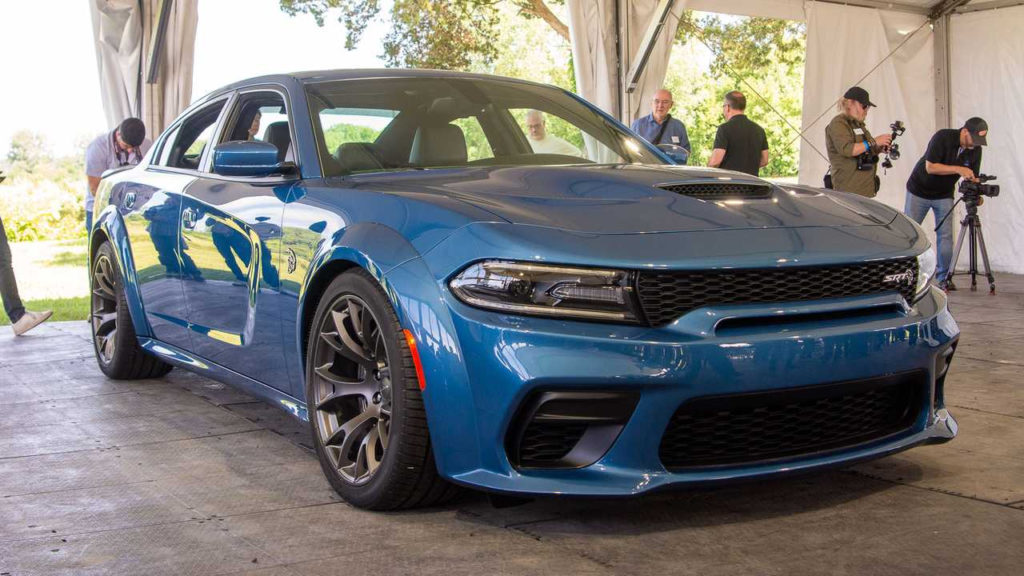 Dodge Charger Widebody Debuts For Hellcat And Scat Pack