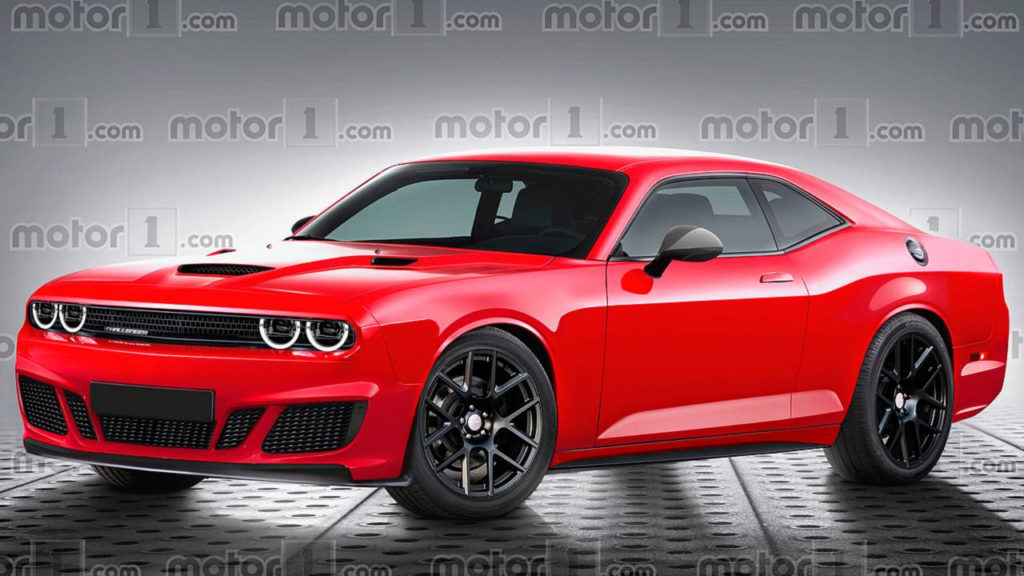 Next Gen Dodge Challenger Rendered With Evolutionary Design