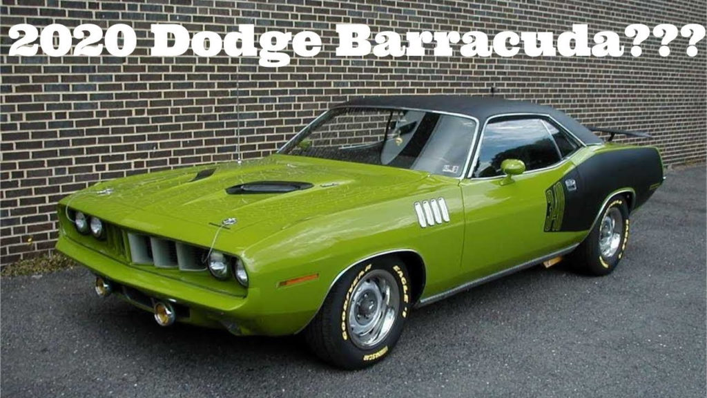New 2023 Dodge Barracuda Interior HP Price And Release