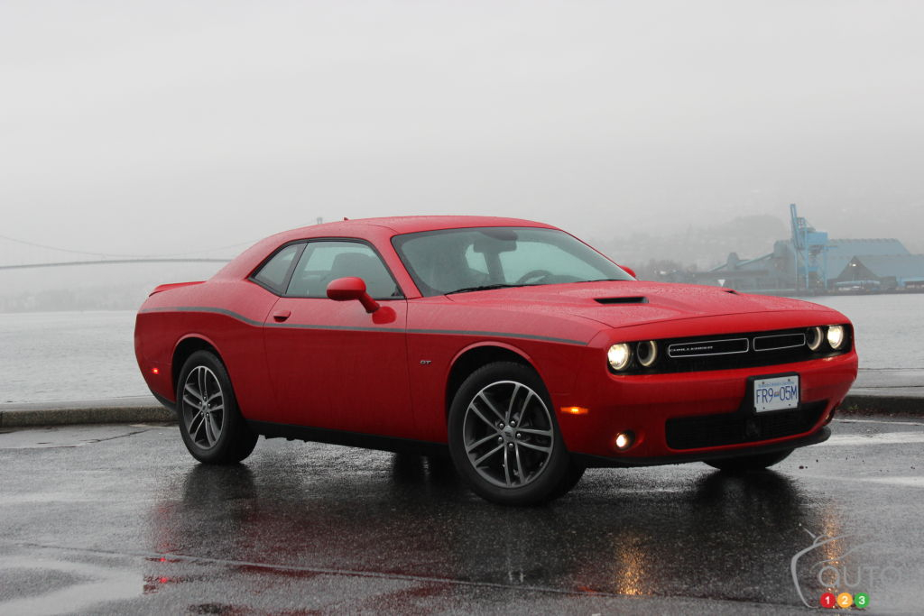2018 Dodge Challenger GT AWD Review 4 wheel Muscle Car