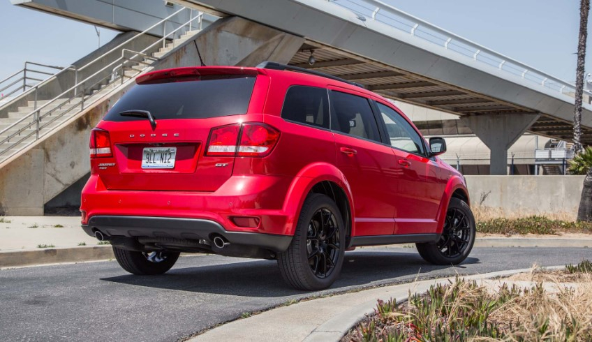 2019 Dodge Journey GT AWD Spy Photos Release Date