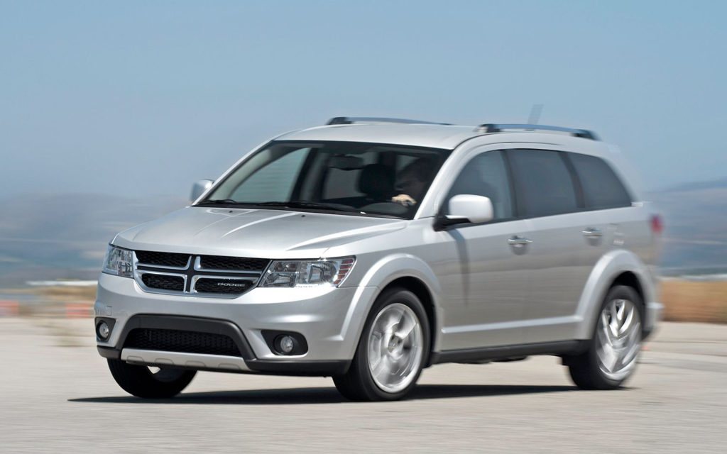 2012 Dodge Journey SXT Now Available With Four Cylinder Engine