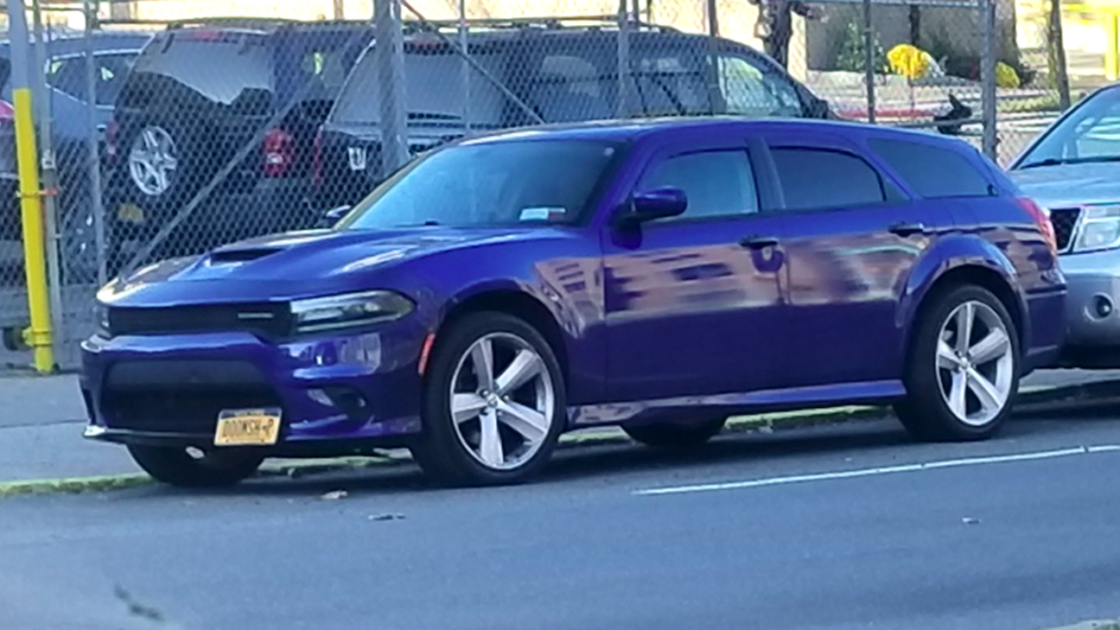 This Dodge Charger Wagon Spotted On The Street Looks So