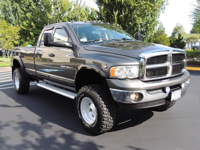 2003 Dodge Ram 2500 SLT 4X4 5 9L Diesel 6 SPEED