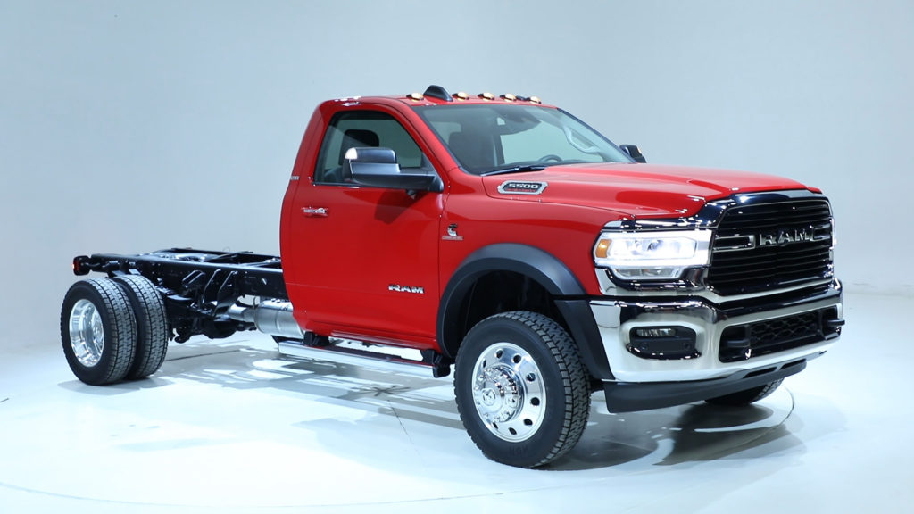 Ram Releases 2019 Chassis Cab Specs