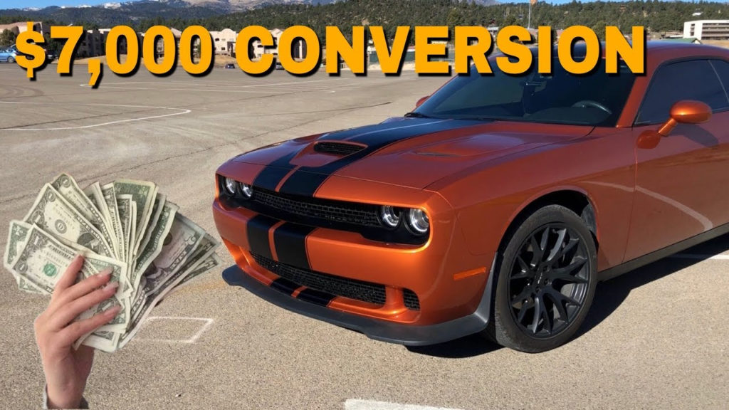How Much Did It Cost To Convert My Challenger RT To A