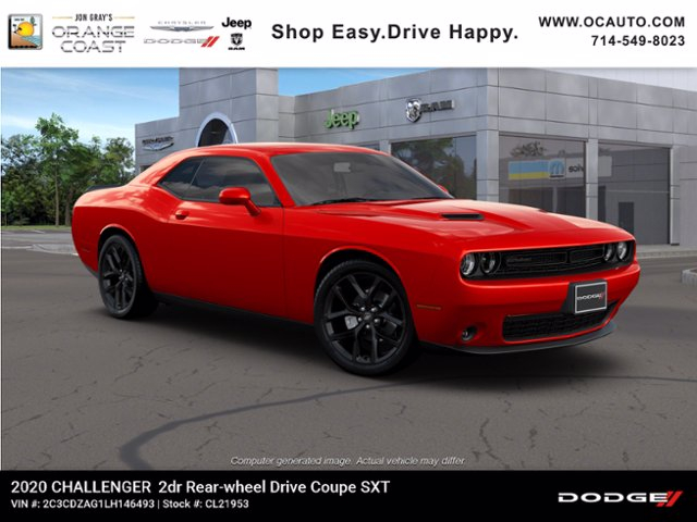 New 2020 DODGE Challenger SXT Coupe In Costa Mesa CL21953