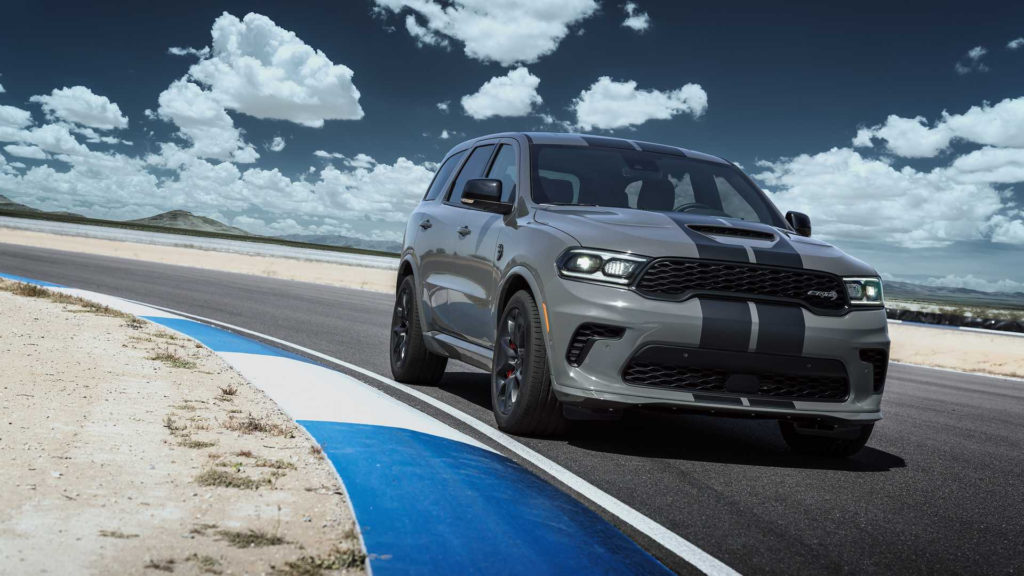 Dodge Challenger Hellcat Durango Is Not Your Typical SUV