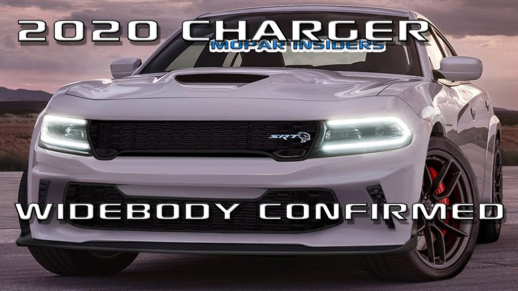 Scoop 2020 Dodge Charger Will Get Widebody With Two Models