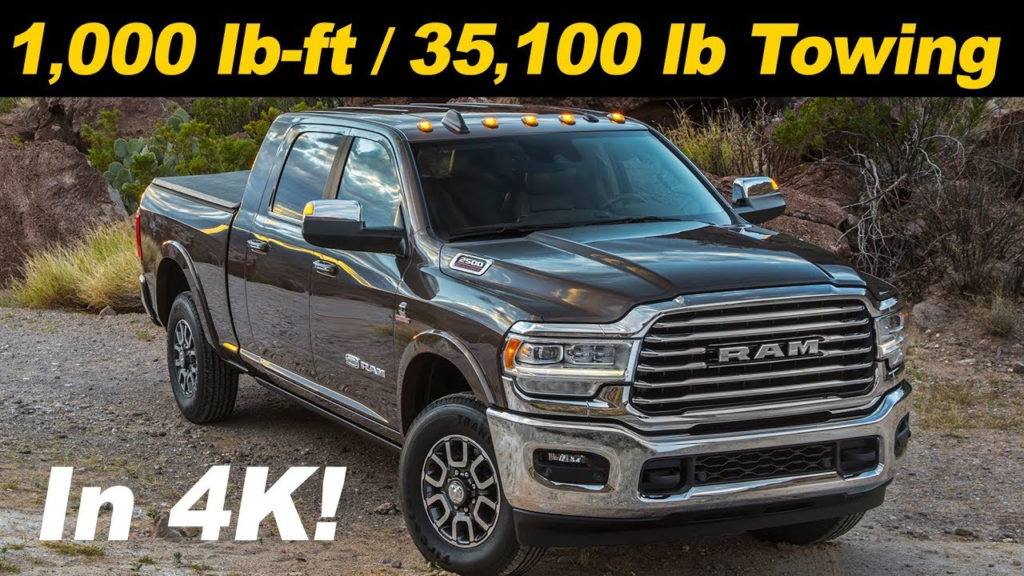 2021 Dodge Ram 2500 Diesel Towing Capacity Gas Mileage
