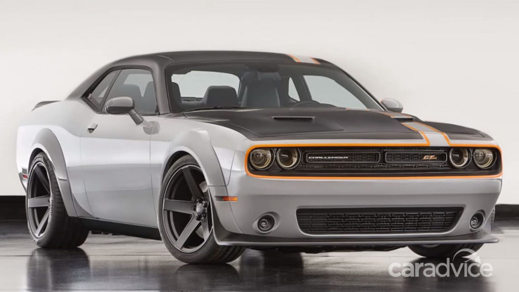 Dodge Challenger GT AWD Concept Revealed At SEMA CarAdvice