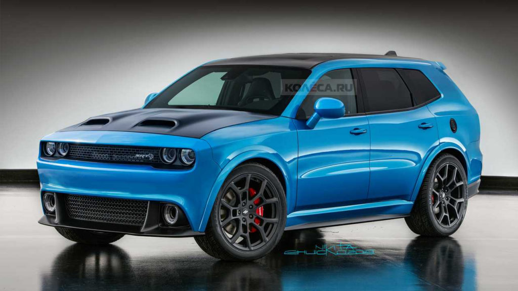 Dodge Challenger SUV Rendering Is So Wrong It s Right