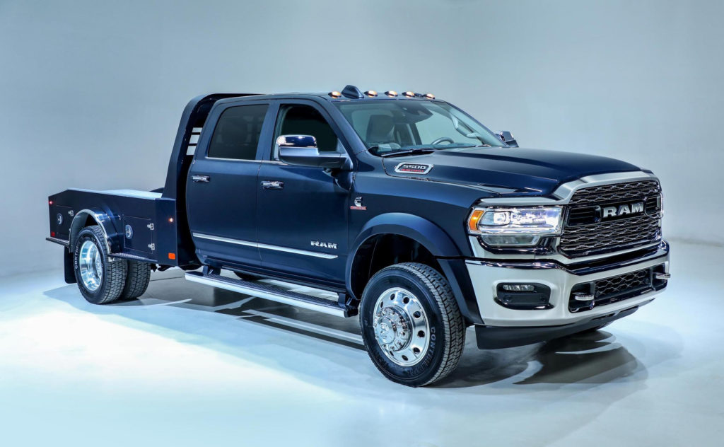 Ram Reveals 2019 3500 4500 5500 Chassis Cabs Medium