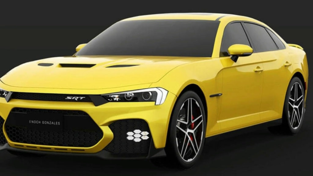Dodge Here s A Take On The Facelifted 2019 Dodge Charger